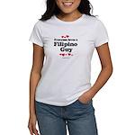 Everyone loves a Filipino Guy - Women's T-Shirt