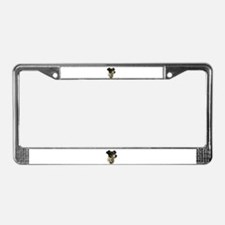 Jack Russell Dog License Plate Frame