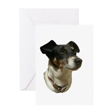 Jack Russell Dog Greeting Card