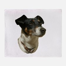 Jack Russell Dog Throw Blanket