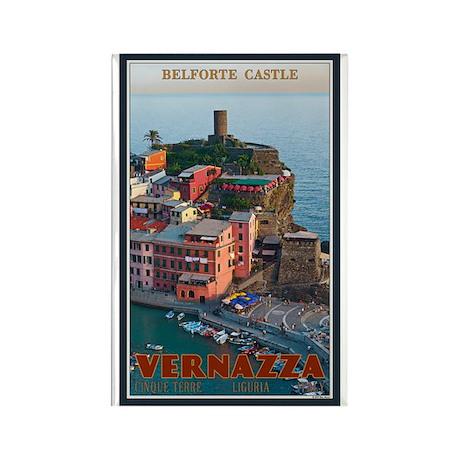 Belforte Castle Rectangle Magnet (100 pack)
