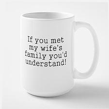 Met Wife's Family Understand Mug