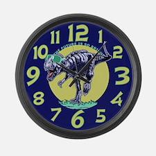 T-Rex Shades Large Wall Clock