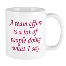 Team Effort Definition Small Small Mug