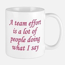 Team Effort Definition Small Small Mug