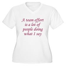 Team Effort Definition T-Shirt