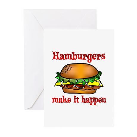 Hamburger Greeting Cards (Pk of 20)