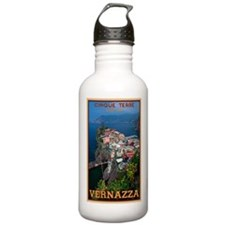 Vernazza from Above Water Bottle