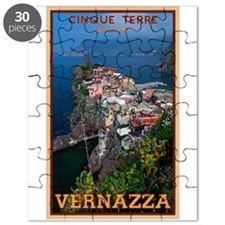 Vernazza from Above Puzzle