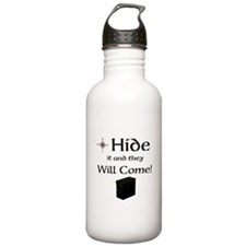 Hide it and they will come Water Bottle
