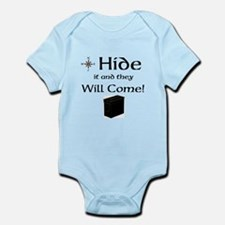 Hide it and they will come Infant Bodysuit