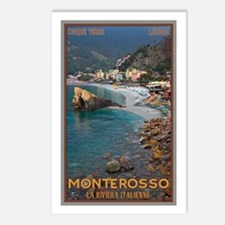 Monterosso Postcards (Package of 8)