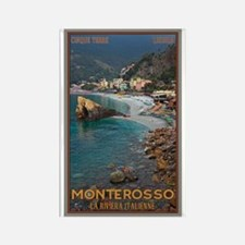 Monterosso Rectangle Magnet (10 pack)