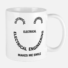 Electrical Engineering Face Mug