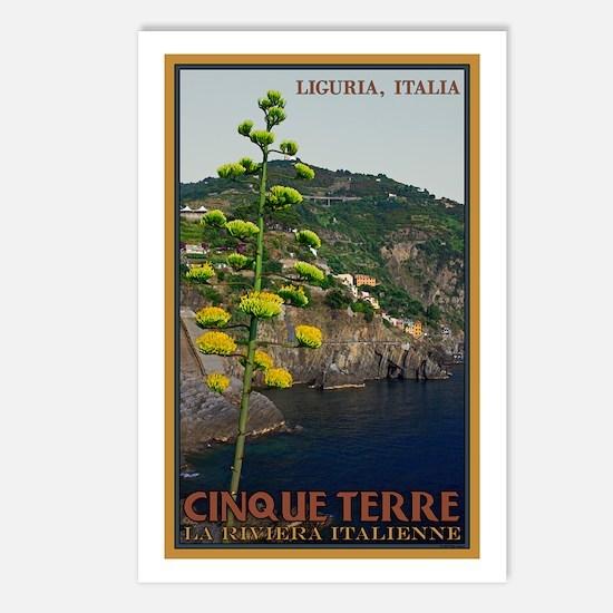 Cinque Terre - Century Plant Postcards (Package of