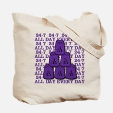 24-7 Tote Bag (on both sides)