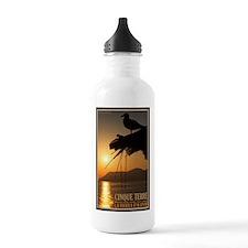 Cinque Terre Sunset Water Bottle
