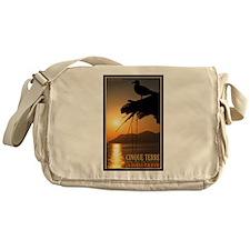 Cinque Terre Sunset Messenger Bag
