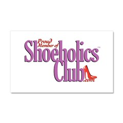 Proud Member of Shoeholics Cl Car Magnet 20 x 12