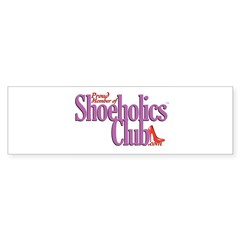 Proud Member of Shoeholics Cl Sticker (Bumper)