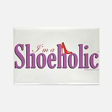 I'm A Shoeholic Home Items Rectangle Magnet