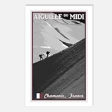Aiguille du Midi Arete Postcards (Package of 8)