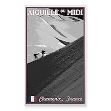 Aiguille du Midi Arete Decal