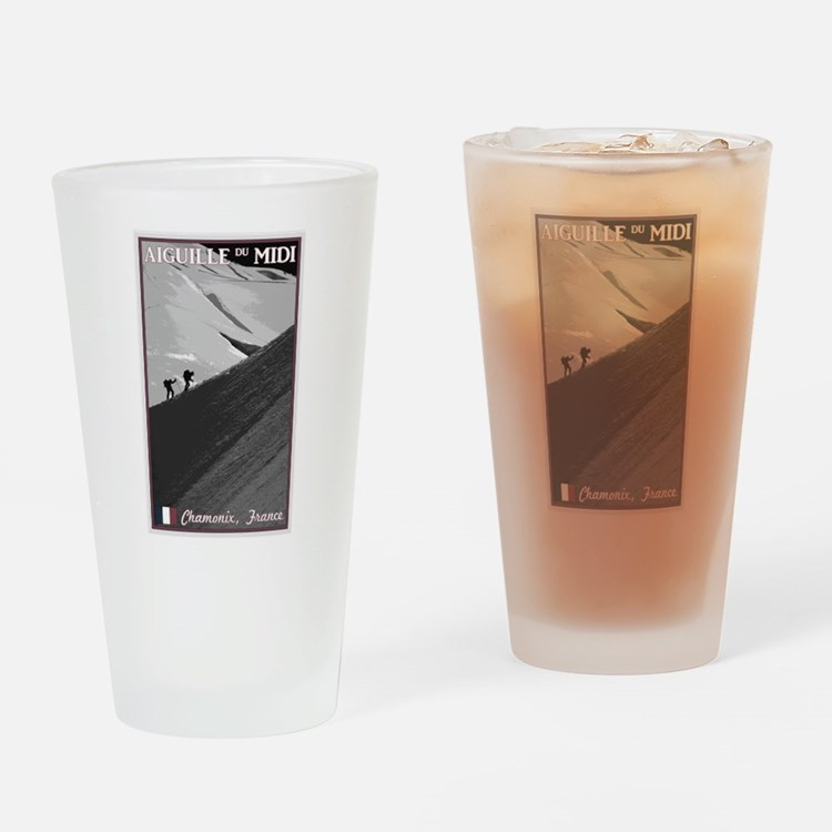 Aiguille du Midi Arete Drinking Glass