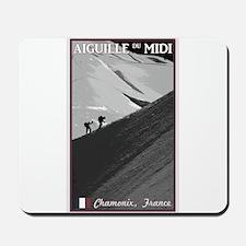 Aiguille du Midi Arete Mousepad
