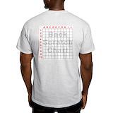 Back scratch grid Light T-Shirt