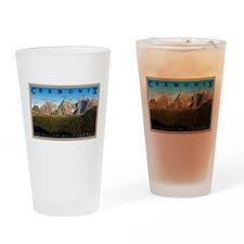 Aiguilles de Chamonix Drinking Glass