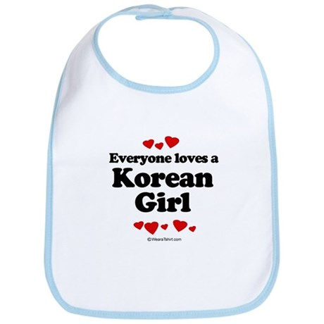 Everyone loves a Korean Girl - Bib