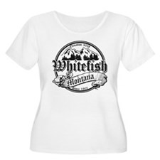 Whitefish Old Black T-Shirt