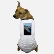Glacier des Bossons Dog T-Shirt