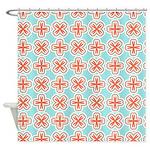 Summer Cross Shower Curtain