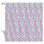 Ampersand Q Shower Curtain
