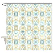 Azetca Moderna Shower Curtain