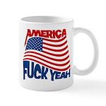 america fuck yeah Mug