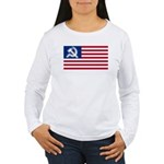 American flag Women's Long Sleeve T-Shirt