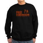Free mammograms Sweatshirt (dark)