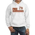 Free mammograms Hooded Sweatshirt