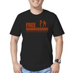 Free mammograms Men's Fitted T-Shirt (dark)