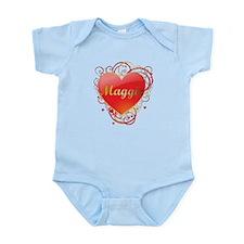 Maggie Valentines Infant Bodysuit