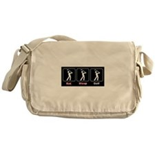 Eat Sleep Golf Messenger Bag