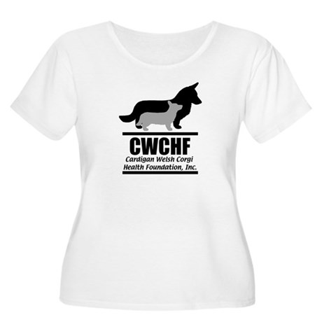 CWCHF Logo Women's Plus Size Scoop Neck T-Shirt