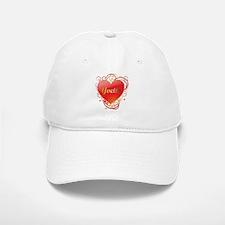 Yvette Valentines Baseball Baseball Cap