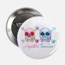 "Cute His her 2.25"" Button (100 pack)"