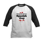Everyone loves a Spanish Guy -  Kids Baseball Jers