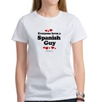 Everyone loves a Spanish Guy - Women's T-Shirt