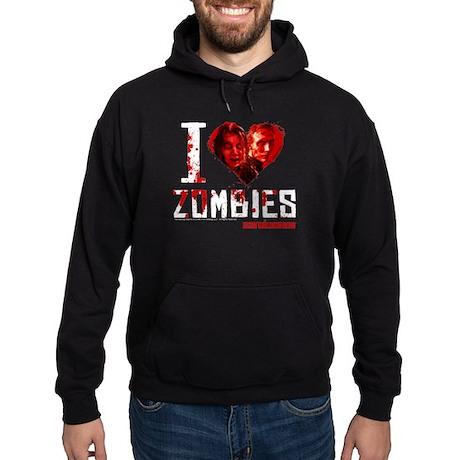 I heart Zombies Hoodie